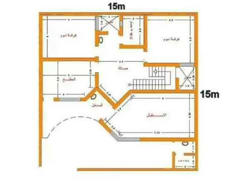 صورة خرائط منازل , تصاميم منازل حديثه