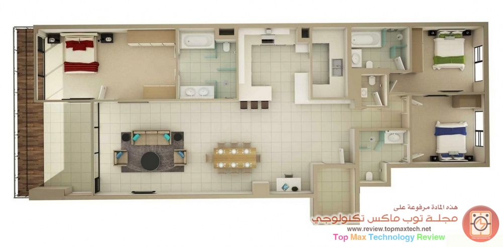 بالصور خرائط منازل , تصاميم منازل حديثه