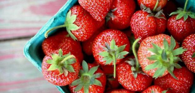 بالصور فوائد الفراولة , فائدة فاكهة الفراولة 5311