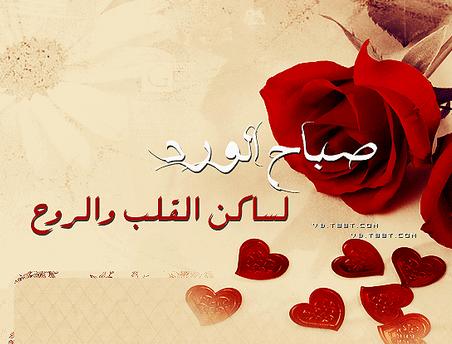 بالصور صباح الورد حبيبتي , اجمل صباح للاحباب 5319
