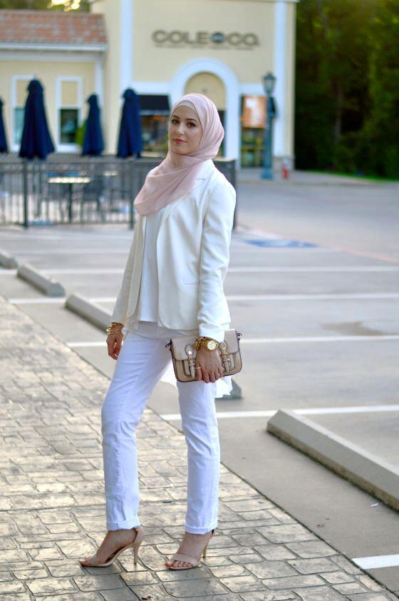 بالصور ملابس محجبات 2019 , كولكشن علي احدث موضه لملابس المحجبات 5799 10