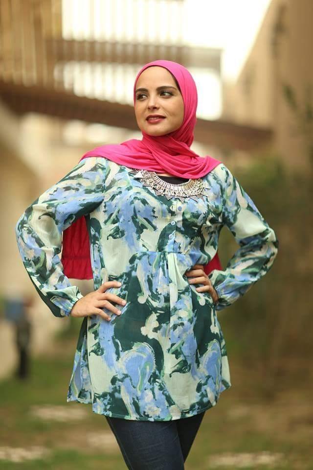 بالصور ملابس محجبات 2019 , كولكشن علي احدث موضه لملابس المحجبات 5799 5
