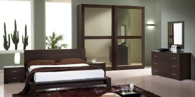 صور غرف نوم خشب , احدث تصميمات غرف النوم المودرن من الخشب