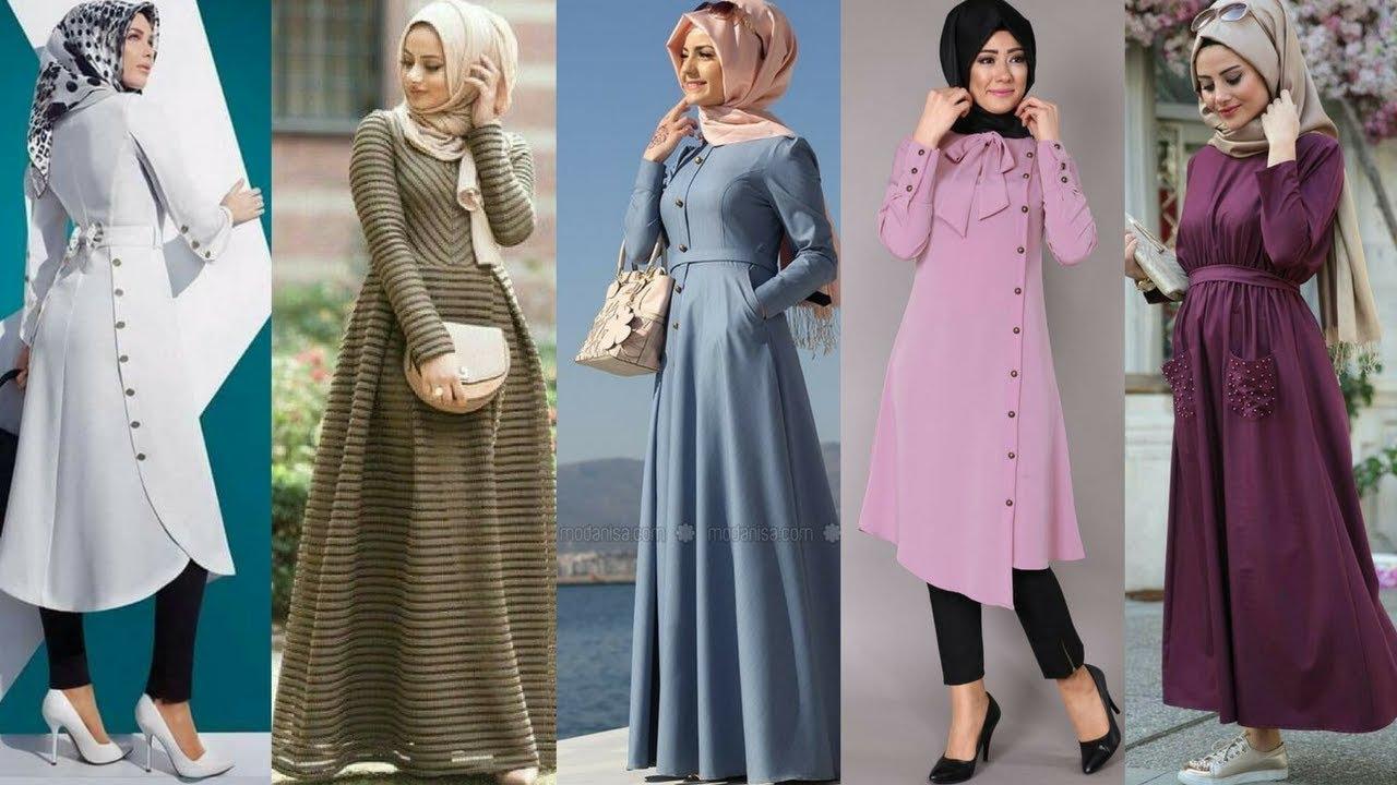 صور اشيك ملابس محجبات , ملابس عصرية للعيد