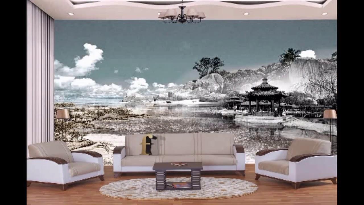 صورة ورق جدران ثلاثي الابعاد , اشكال جديدة لورق الحائط