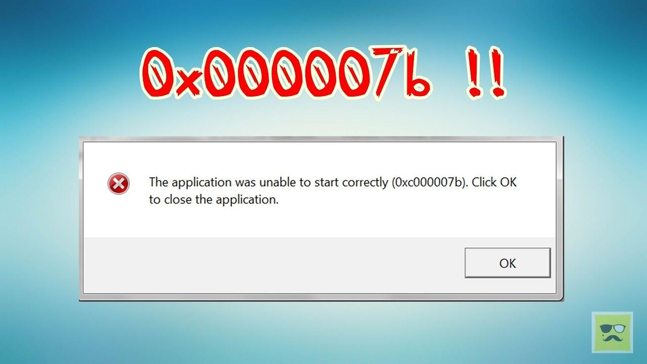 صور حل مشكلة 0xc00007b , مشكلة عدم ظهور الالعاب