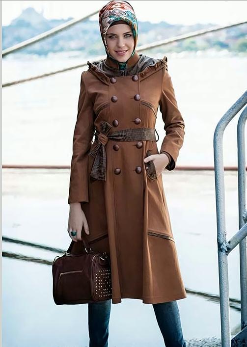 eb41d3c24 ملابس شتوية للمحجبات تركية , ازياء للشتاء من تركيا - كيوت
