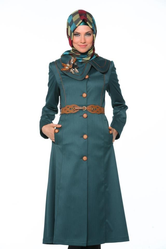 64d9bbf58 ملابس شتوية للمحجبات تركية , ازياء للشتاء من تركيا - كيوت