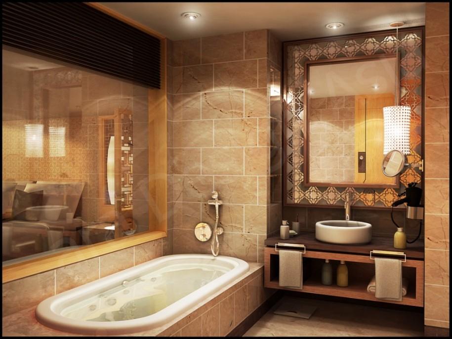 بالصور اجمل حمام , صور ديكورات جديدة للحمام 4744 1