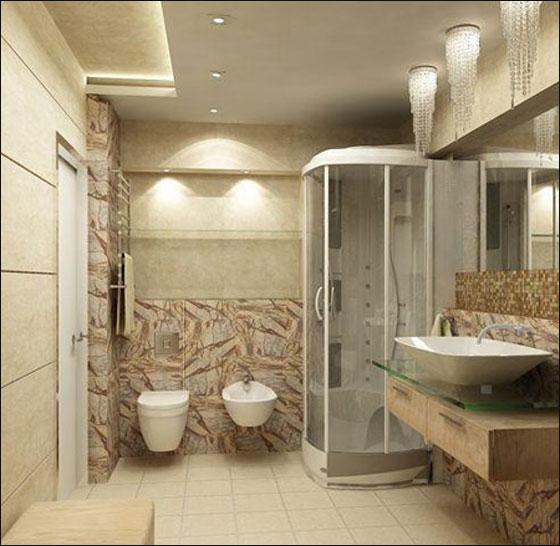 بالصور اجمل حمام , صور ديكورات جديدة للحمام 4744 4