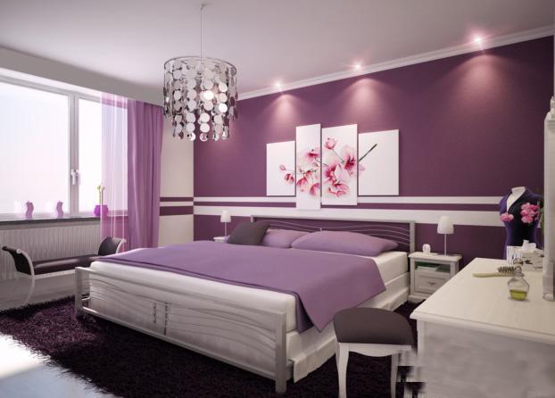 بالصور اجمل ديكورات غرف النوم , اشيك الديكورات الحديثه 5735 4