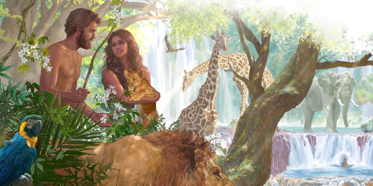 صور قصة ادم وحواء , شرح لقصه سيدنا ادم وحواء