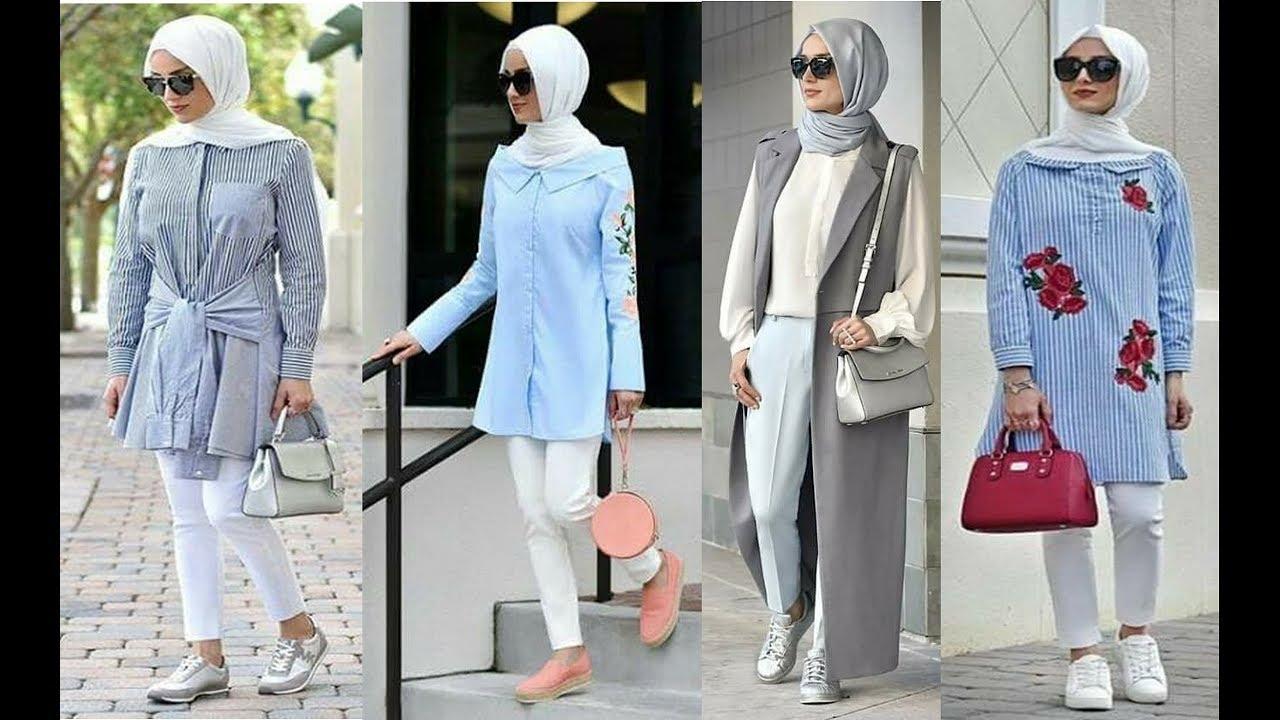 بالصور ملابس تركية للمحجبات , كولكشن جميل للملابس التركيه الخاصة بالمحجبات 5836