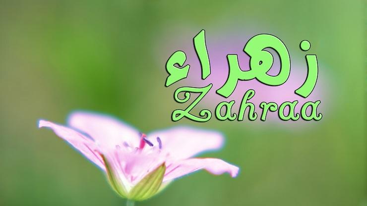 بالصور اسم زهراء , صور عليها تصميمات باسم زهراء 5896 3