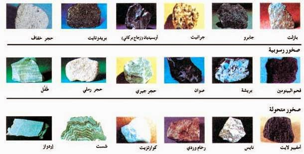 صور انواع الصخور , اجمل انواع الصخور المختلفة