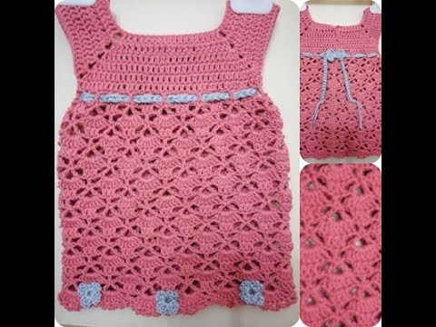 b183f05b8 فساتين اطفال كروشيه , اجمل صور لفساتين الاطفال من الكروشية - كيوت