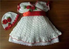 بالصور فساتين اطفال كروشيه , اجمل صور لفساتين الاطفال من الكروشية 5943 4