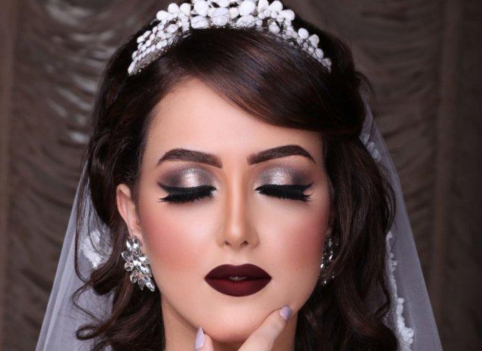 صورة مكياج عروس , اجمل مكياج للعرائس