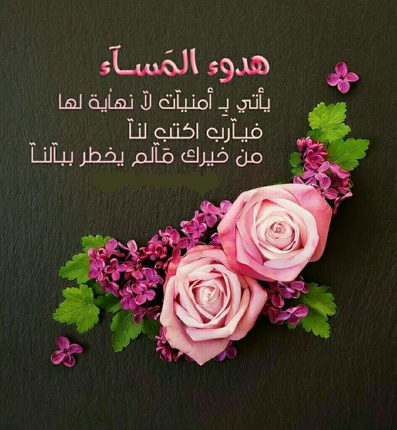 صورة صور مساء الخير , اجمل التصميمات لمساء الخير