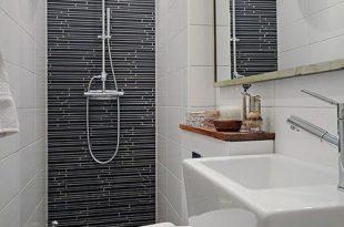 صورة ديكور حمامات صغيرة , اجمل الديكورات للحمامات الصغيره