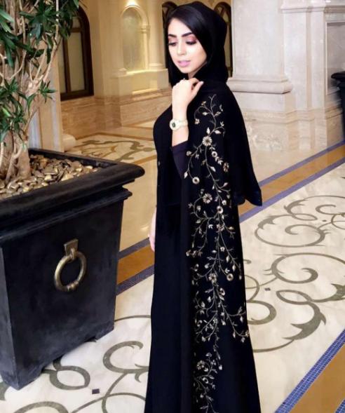 بالصور عباية اماراتية , اجمل العبايات الامارتية 6152