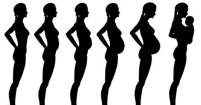 صورة شكل بطن الحامل ببنت او ولد بالصور , شكل بطن الحامل بمولود 6224 5