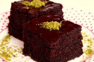 صورة طريقة عمل كيكة الشوكولاته منال العالم , احسن الطرق لعمل كيكة الشوكولاته هي طريقة منال العالم