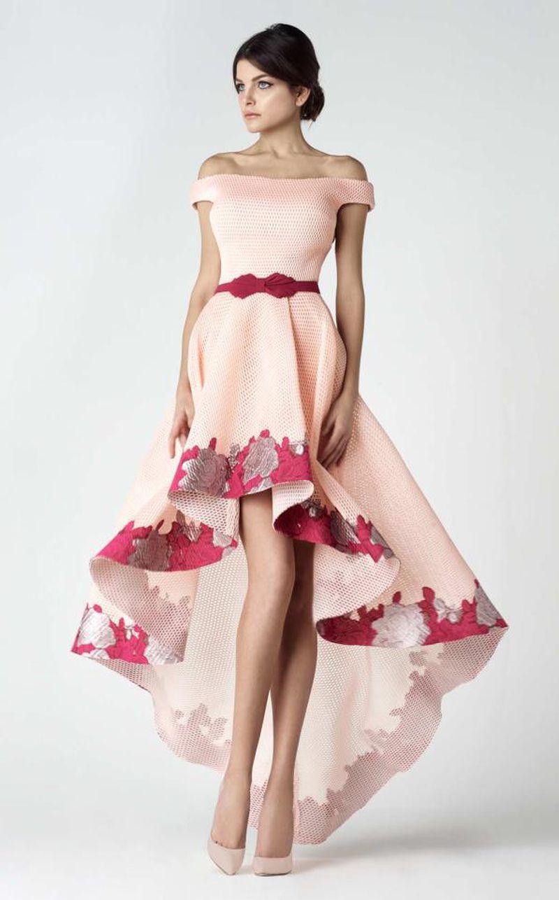 b2adfde0d موضة فساتين 2019 , صور لفساتين سهره جميلة جدا 2019 - كيوت