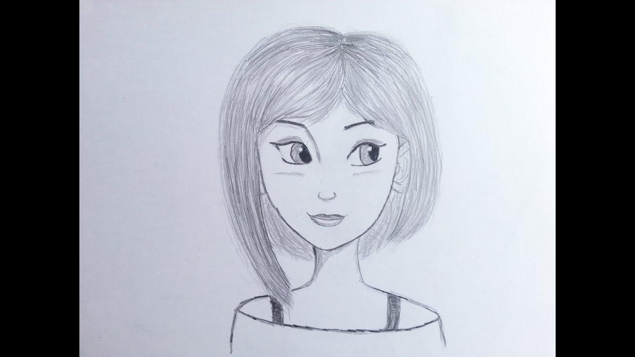 رسومات بنات سهله اسهل رسوم انمى بنات كيوت