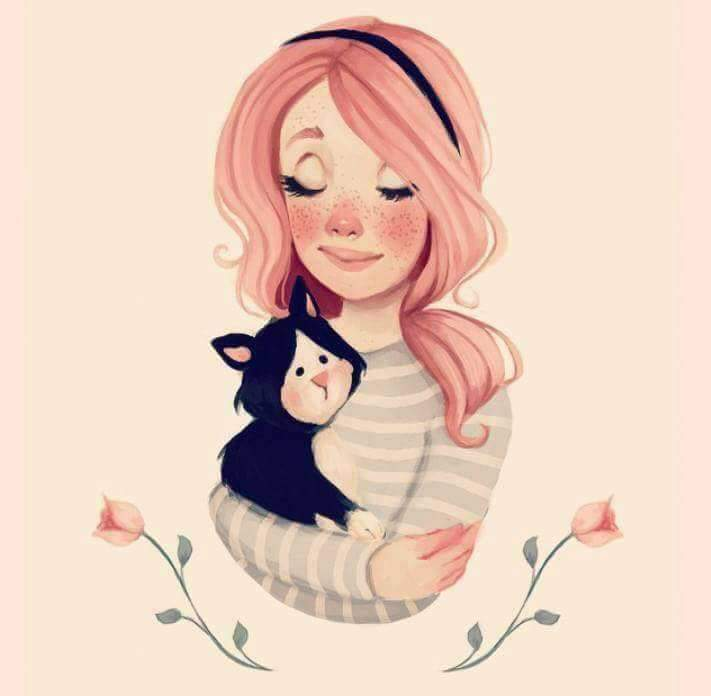 صورة رسومات بنات حلوه , خلفيات ورمزيات بنات كيوت