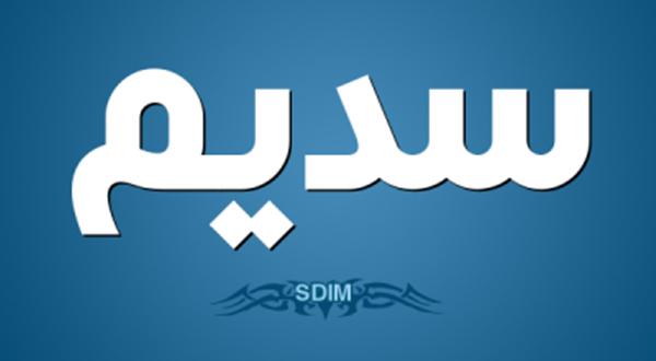 صورة معنى سديم , مواصفات حامل اسم سديم