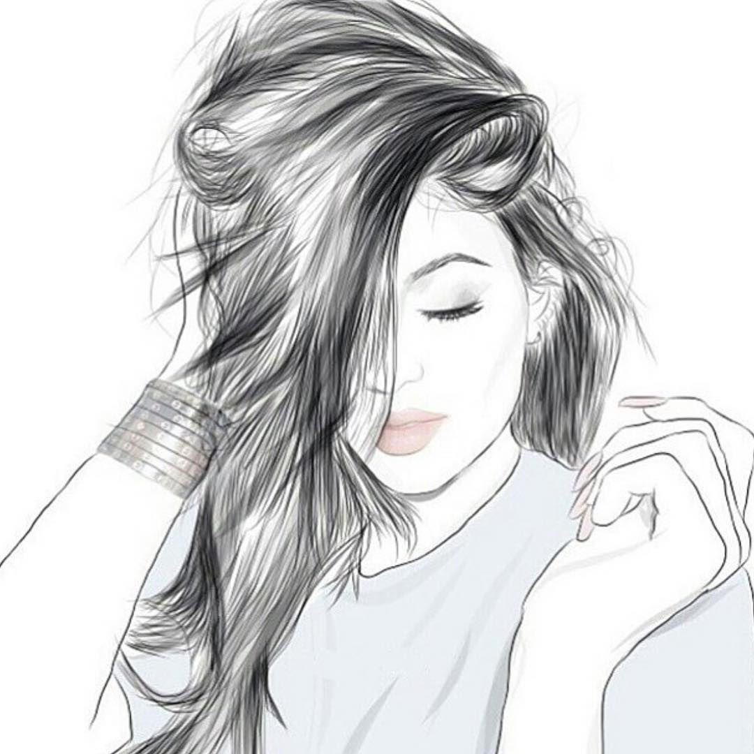 صورة بنات كيوت رسم , اجمل الصور رسم لبنات كيوت