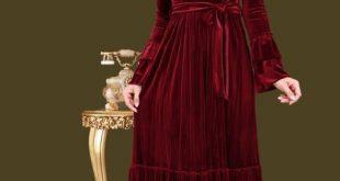 صور موديلات فساتين مخمل , صور لارقى وازهى انواع الفساتين