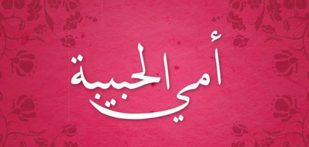 صورة حديث عن الام , اجمل الكلمات والعبارات فى فضل الام