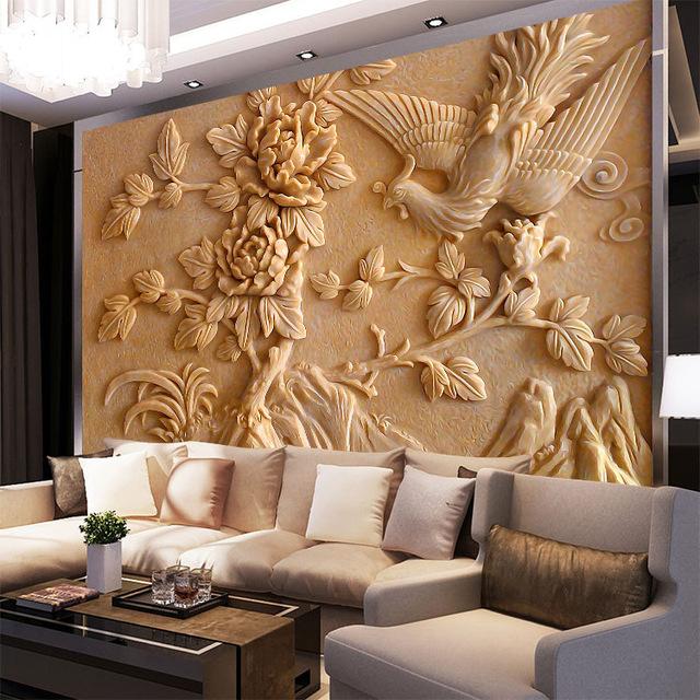 صورة ورق جدران فخم , احدث تصميمات لاوراق الجدران