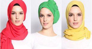 صور صور لفات حجاب , احدث صور لطرق لف الحجاب