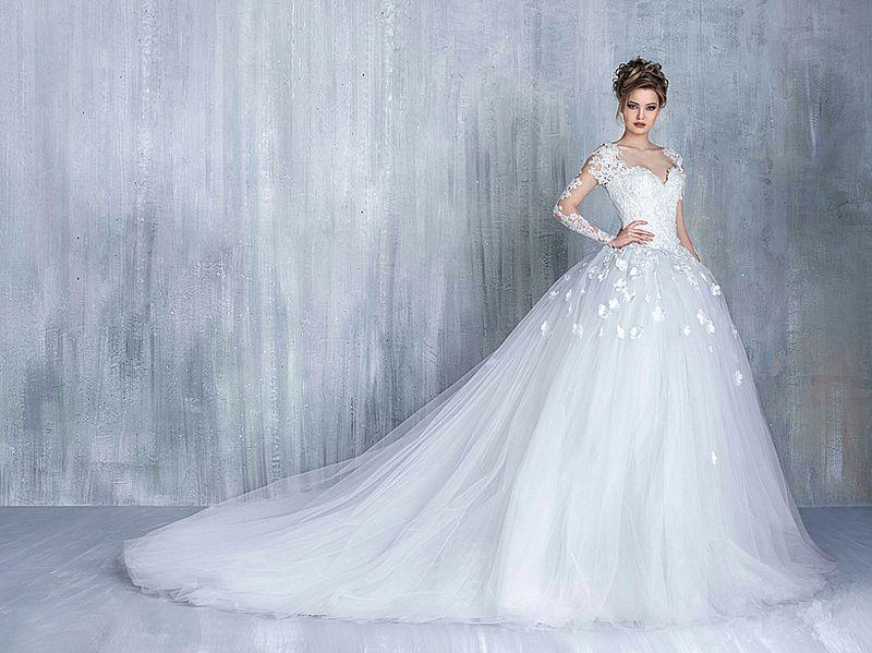 ac16fb71b صور فساتين عرايس , صور فساتين زفاف خيالية للعرايس - كيوت
