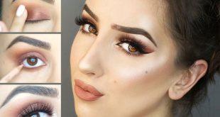 صور مكياج عيون خفيف , كيفية اظهار جمال العيون