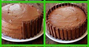 صورة طريقة تزيين الكيك , افكار جميله لكيفية تزيين الكيك