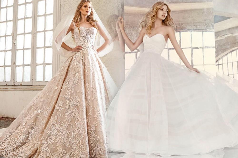 صورة فساتين عرايس فخمه , اروع الموديلات لفساتين العرايس