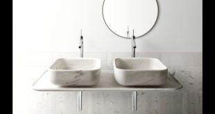 صورة مغاسل حمامات , اجمل تشكيله لمغاسل الحمامات