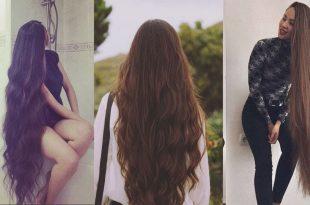 صورة خلطات لتطويل الشعر , وصفه الجمال لشعر صحي طويل
