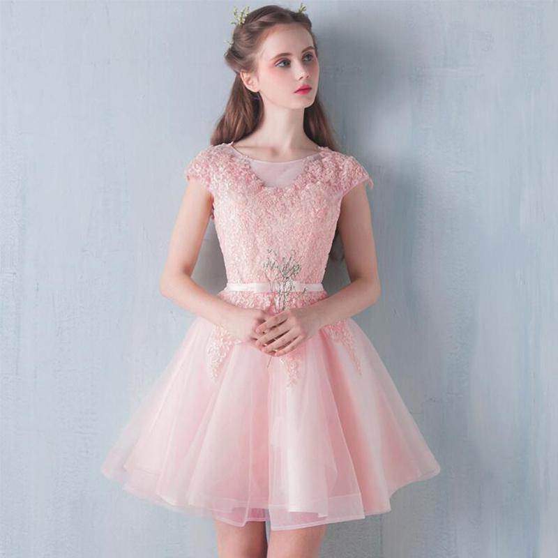 4509116f1 فساتين قصيرة منفوشة , اجمل الفساتين المزكرشة القصيرة - كيوت