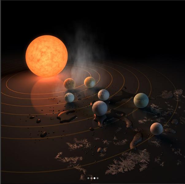 بالصور صورا فضائية لكواكب المجموعة الشمسية , معلومات عن المجموعة الشمسية 11282