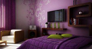 صور ديكورات دهانات غرف نوم , غرف النوم لاجمل العرائس