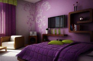 صورة ديكورات دهانات غرف نوم , غرف النوم لاجمل العرائس