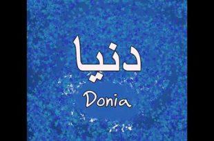 صور معنى كلمة دنيا , حكم تسمية اسم دنيا