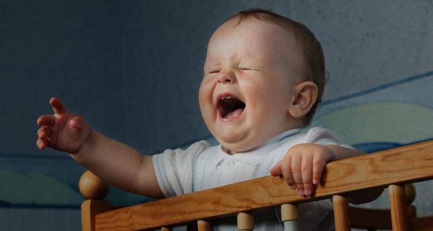 بالصور صراخ الطفل اثناء النوم , تعرف علي سبب صراخ طفلك 11404 11