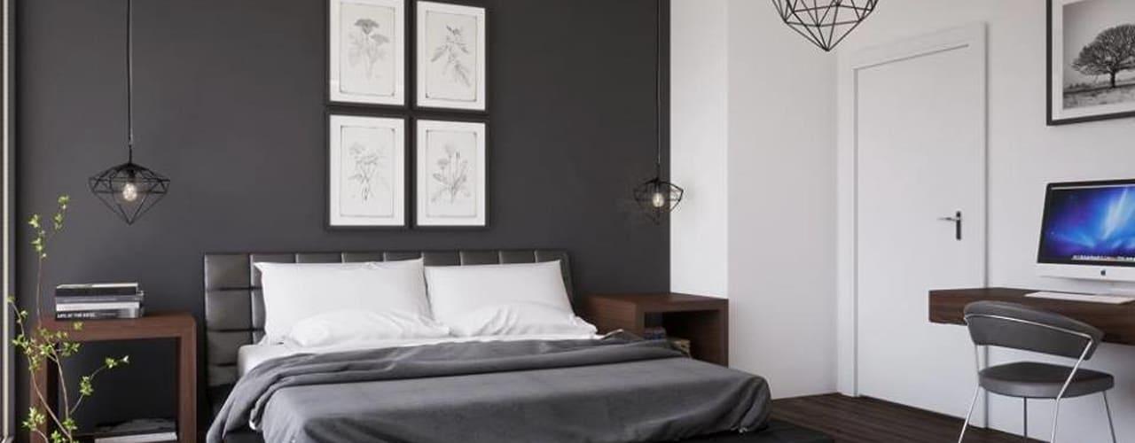 بالصور غرف نوم باللون الاسود والفضي , اللون المفضل في غرف النوم 11416 12