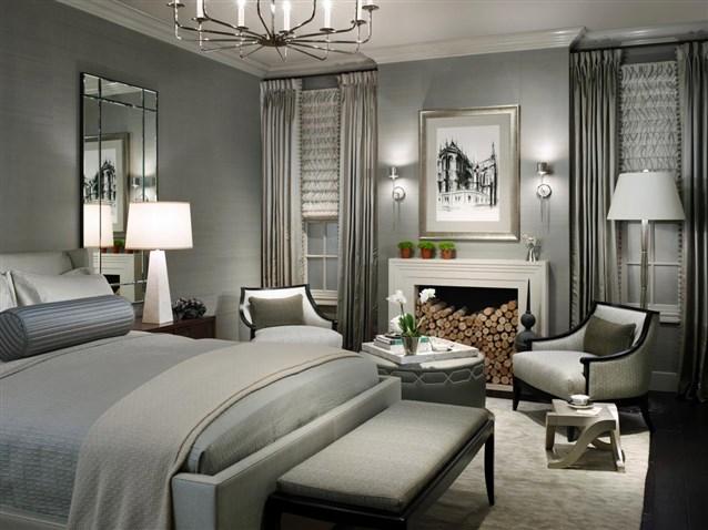 بالصور غرف نوم باللون الاسود والفضي , اللون المفضل في غرف النوم 11416 7